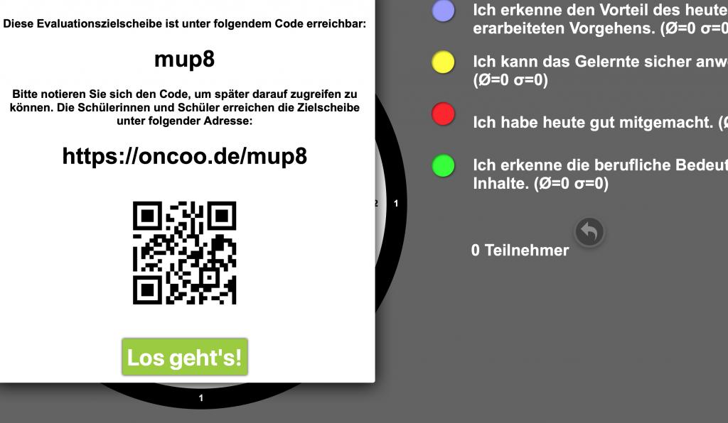 Mit dem iPad unterrichten: Oncoo lässt sich leicht per QR-Code erreichten.
